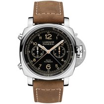 Panerai Luminor 1950 3 Days Chrono Flyback new 2019 Automatic Chronograph Watch with original box and original papers PAM 00653