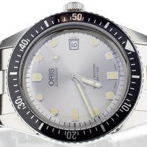 Oris Divers Sixty Five pre-owned 42mm Steel