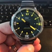 IWC Aquatimer Automatic 2000 pre-owned 46mm Black Date Rubber