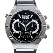 8315eedcc3c Piaget Polo Titanium Chronograph G0A34002 Watch with Rubber.