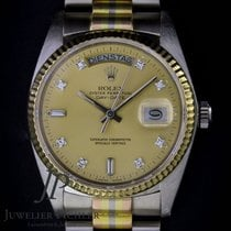 Rolex White gold Automatic 18039 B pre-owned
