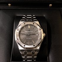 Audemars Piguet Royal Oak Selfwinding Steel 37mm Grey No numerals