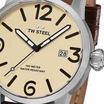 TW Steel 钢 45mm 石英 MS21 全新