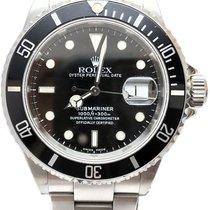 Rolex Submariner Steel 40mm Black