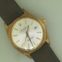 Rolex Oyster Perpetual Date Yellow gold 34mm Silver United States of America, Arizona, Scottsdale