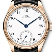 IWC Portuguese Hand-Wound Red gold 43mm White Arabic numerals United States of America, Florida, Hollywood