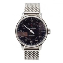 Meistersinger Steel 43mm Automatic Perigraph new