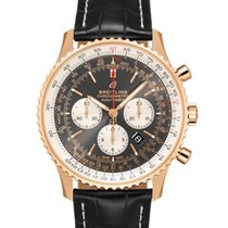 Breitling Red gold Automatic Grey No numerals 46mm new Navitimer 01 (46 MM)