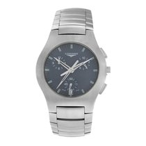 Longines Oposition Steel 38mm Grey Arabic numerals United States of America, New York, New York