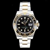 Rolex 116713LN Gold/Stahl 2008 GMT-Master II 40mm gebraucht Schweiz, Nyon (Genéve)