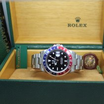 Rolex GMT-Master II Stål 40mm Svart Ingen tall