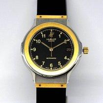 Hublot Classic Gold/Stahl 36mm Schwarz Arabisch