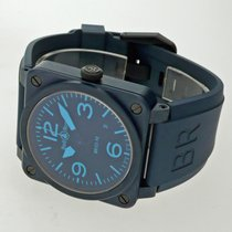 Bell & Ross Ceramic 42mm Automatic BR0392-CERAM-BLUE pre-owned