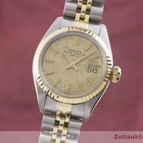 Rolex Lady-Datejust Zlato/Zeljezo 26mm Zlatan