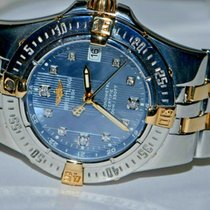 Breitling Starliner Gold/Steel 30mm Blue No numerals United States of America, New York, Greenvale