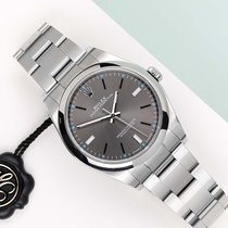 Rolex Oyster Perpetual 39 Stal 39mm Szary