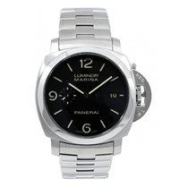 Panerai Luminor Marina 1950 3 Days Automatic Acier 44mm Noir Arabes France, LYON