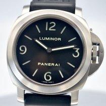 Panerai Luminor Base Titanium 44mm Zwart Arabisch