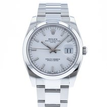 Rolex Oyster Perpetual Date Steel 34mm White United States of America, Georgia, Atlanta