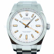 Rolex Milgauss Steel 40mm White No numerals Singapore, Singapore