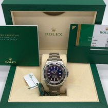 Rolex Sea-Dweller Steel 44mm Blue No numerals United States of America, Illinois, Springfield