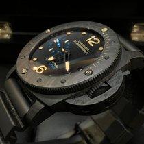 Panerai Luminor Submersible 1950 3 Days Automatic Carbon 47mm Crn Arapski brojevi