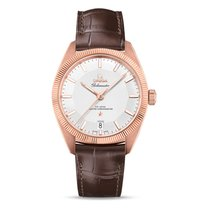 Omega Globemaster Rose gold 39mm Silver No numerals United Kingdom, London