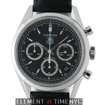 TAG Heuer Carrera Calibre 17 Steel 39mm Black United States of America, New York, New York