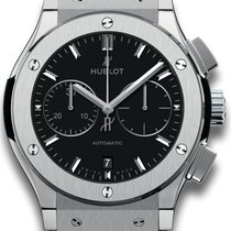 Hublot 521.nx.1171.lr Titanium 2021 Classic Fusion Chronograph 45mm new United States of America, New York, Airmont