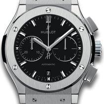Hublot Titanium Automatic Black 45mm new Classic Fusion Chronograph