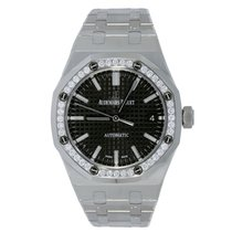 Audemars Piguet Ladies AP Royal Oak 37 Stainless Steel Diamond...