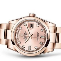 Rolex DAY-DATE pink gold, diamonds dial 22300E EXPORT PRICE