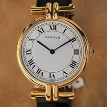 Cartier Paris 18K Gold Made in France 30mm Men's Watch...