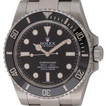 Rolex : Submariner :  114060 :  Stainless Steel : black dial