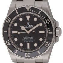 Rolex : Submariner :  114060 :  Stainless Steel : black dial