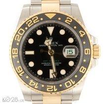 Rolex GMT Master II 116713LN Steel/Gold  B+P 2009 EU