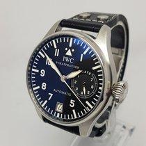 IWC Big Pilot Mens 46mm Steel Watch
