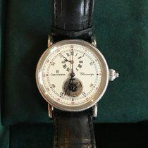 Chronoswiss Chronoscope Steel White Arabic numerals