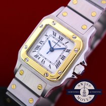 Cartier Santos Galbée Gold/Steel 24mm White Roman numerals United States of America, New York, NEW YORK