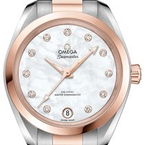 Omega Seamaster Aqua Terra Gold/Steel 34,00mm Mother of pearl