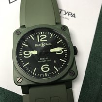 Bell & Ross Green Ceramic Military Type 42mm Automatic...
