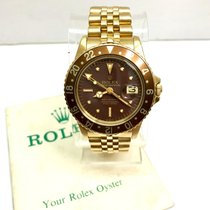 Rolex Yellow gold Automatic pre-owned GMT-Master