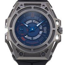 Linde Werdelin 44mm Automatic 2014 pre-owned SpidoLite Blue