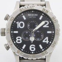 Nixon 【楽天市場】【中古】NIXON ニクソン THE51-30 クロノグラフ メンズ クォーツ 黒文字盤...