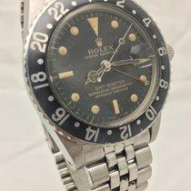 Rolex 1675 Ατσάλι 1960 GMT-Master 40mm μεταχειρισμένο