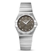 Omega Constellation Quartz Acier 27mm Gris