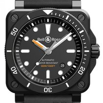 Bell & Ross Ceramic 42mm Automatic BR0392-D-BL-CE/SRB new