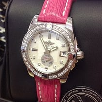 Breitling Galactic 36 Steel 36mm Mother of pearl No numerals