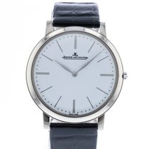 Jaeger-LeCoultre White gold Manual winding White 39mm pre-owned Master Ultra Thin