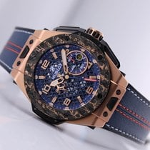 Hublot Big Bang Ferrari Rose gold 45mm Transparent Arabic numerals United States of America, New Jersey, Princeton